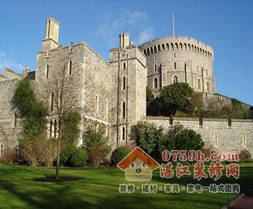 欧式城堡竖条砖块贴图素材