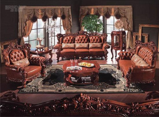 孔雀王家居馆特约:卡芬达欧式古典家具