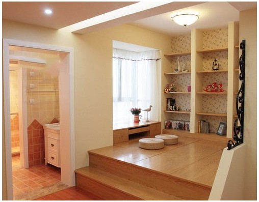 古北菊翔苑二室二厅一卫装修案例效果图 85平米设计