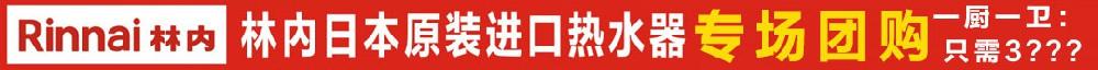 湛江林内进口热水器专场团购,一厨一卫只需3???,数量有限